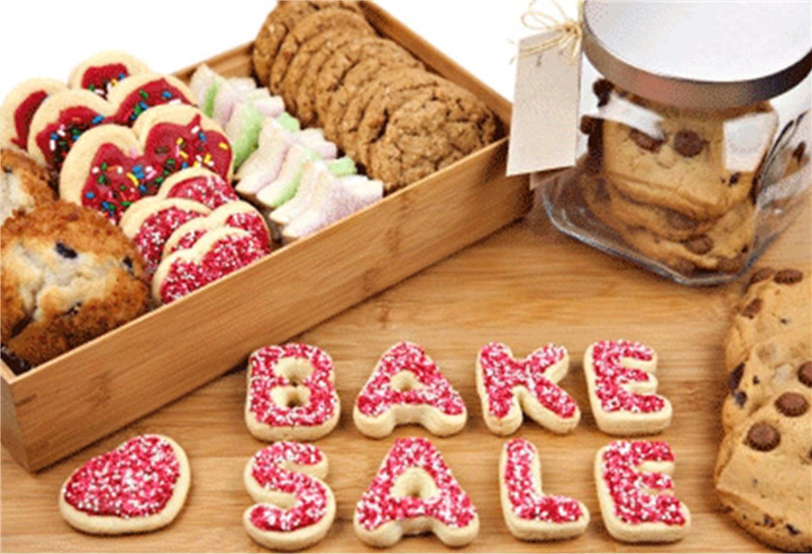 Outreach & Sunday School Bake Sale