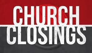 Church closed due to Corona virus concerns